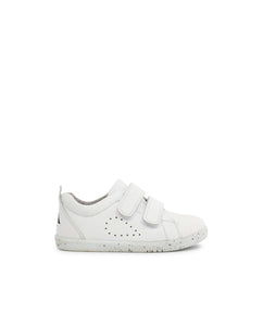 I Walk Grass Court Casual Shoe White