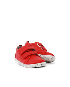 I Walk Grass Court Casual Shoe Red