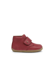 Step Up Desert Boot Dark Red