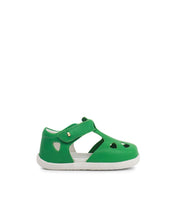 Step Up Zap Closed Sandal Emerald
