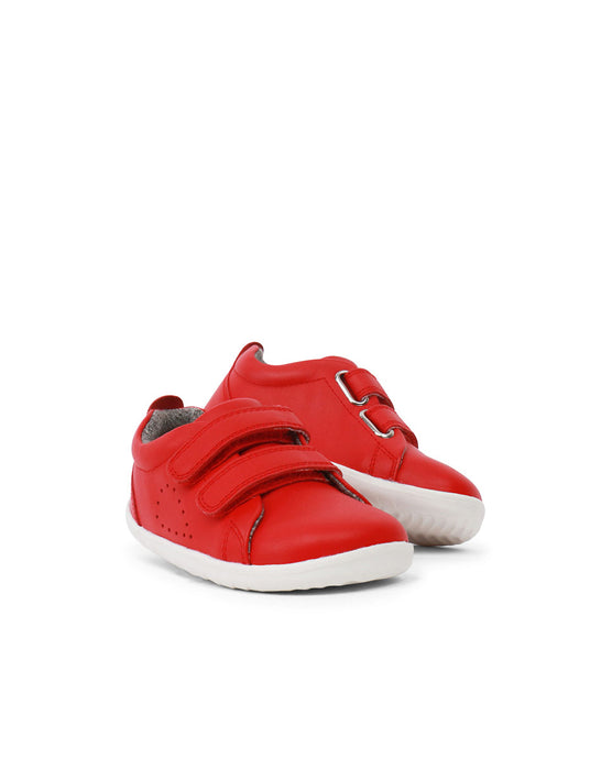Up Grass Court Casual Shoe Red