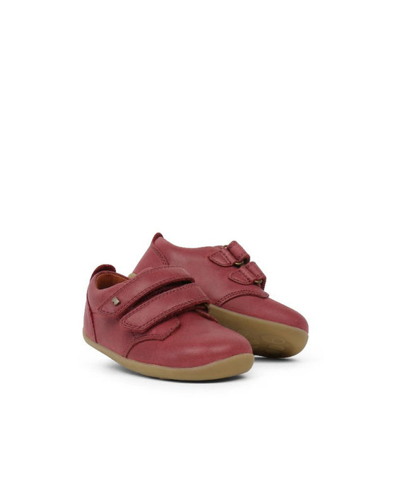 Step Up Port Shoe Dark Red