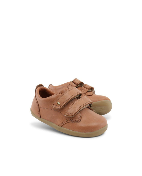 Step Up Port Shoe Caramel