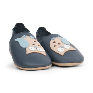 Soft Sole Navy Owl