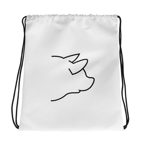 The Super Pig Drawstring Bag