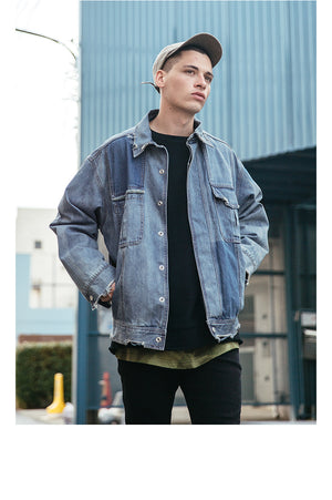 The VIISHOW Blue Denim Jacket