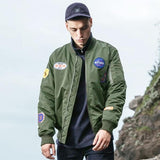 Army Green Patch Parka