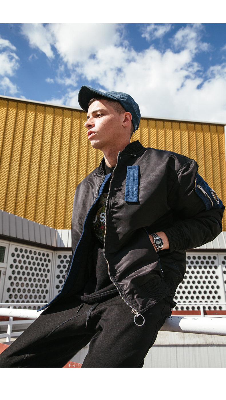 The VIISHOW Winter Bomber Jacket