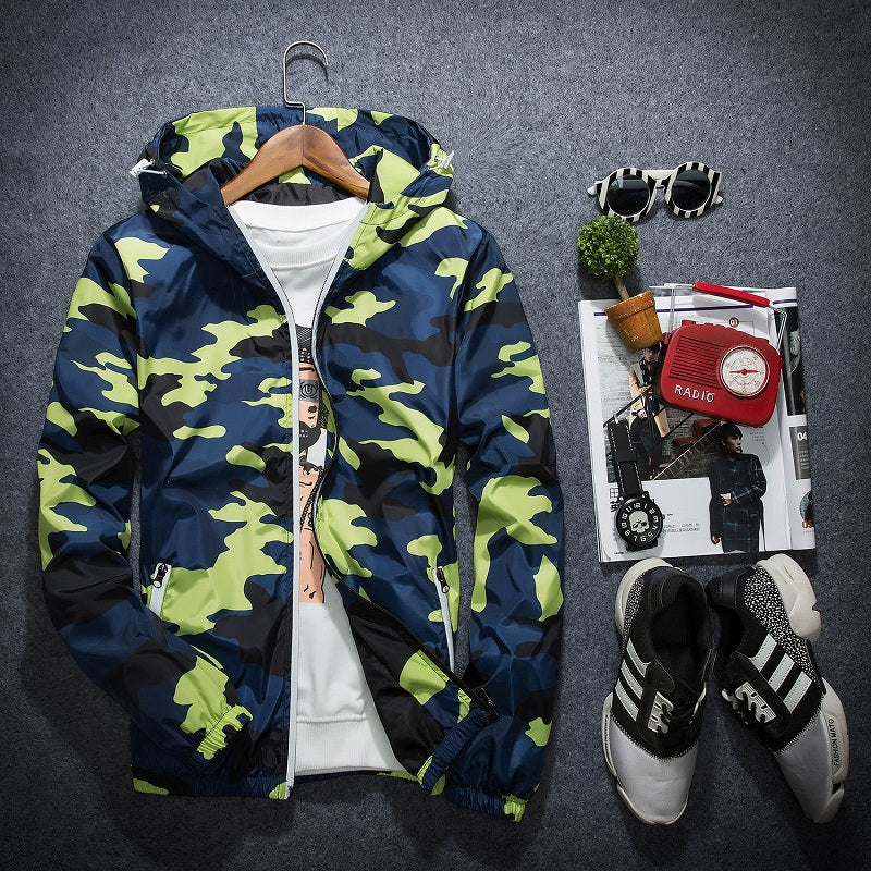 The Camouflage Spray Jacket