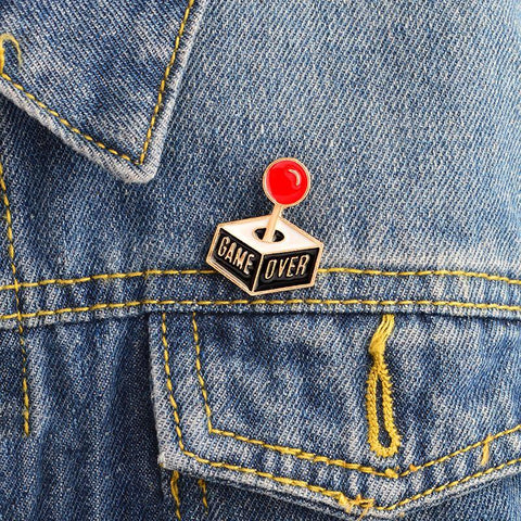 The Game Over Pin
