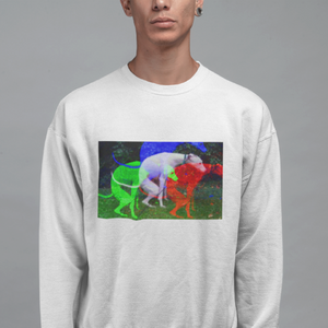 Greyhound Shitting Crew Neck Sweatshirt