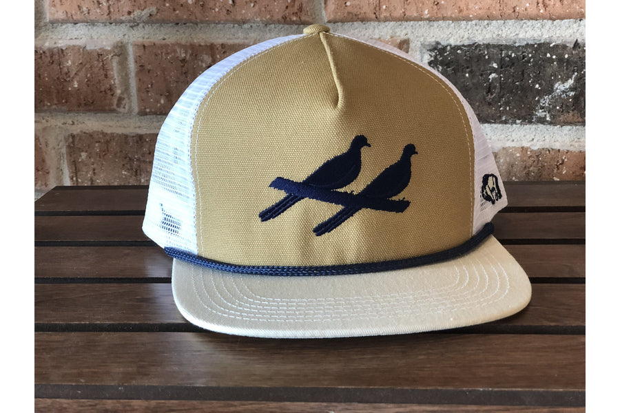The Natural 5 Panel Hat-Trucker Hats-Fly Wild Outfitters
