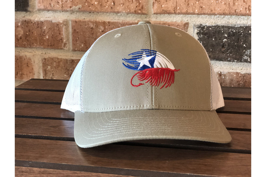 Texas Fly Wild Big Logo Trucker-Trucker Hats-Fly Wild Outfitters