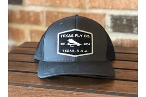 Black Fly Patch Hat-Trucker Hats-Fly Wild Outfitters