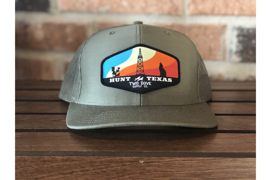 Hunt Texas Trucker Hat-Trucker Hats-Fly Wild Outfitters