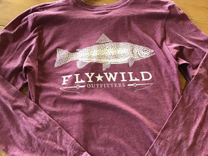 Fly Wild Trout Long Sleeve