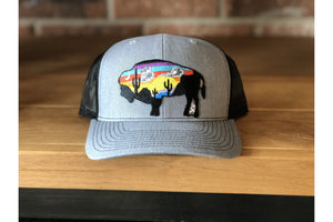 Buffalo- Curved-Fly Wild Outfitters