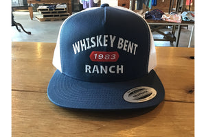 Whiskey Bent 1983 Hat-Trucker Hats-Fly Wild Outfitters