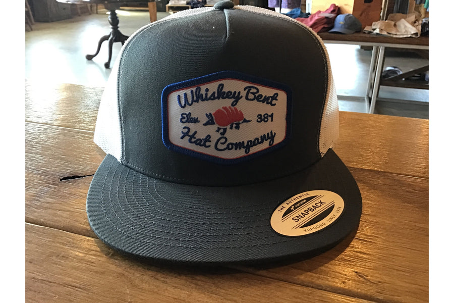 Whiskey Bent Armadillo Hat-Trucker Hats-Fly Wild Outfitters