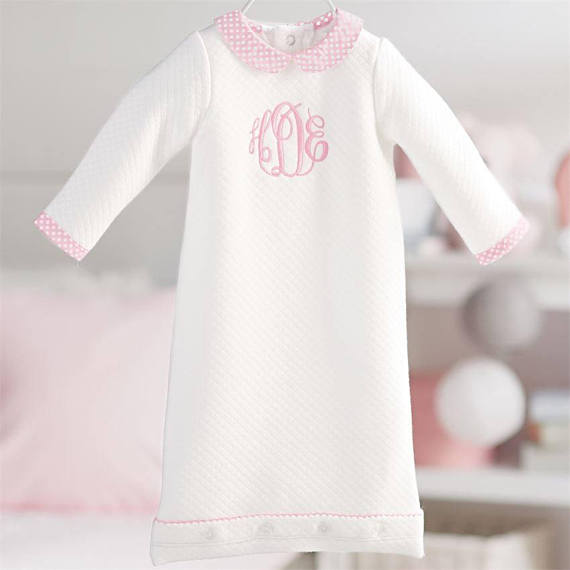 Baby Girl Coming Home Gown – Spencer and York