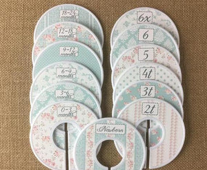 Marvelous Roses Closet Dividers