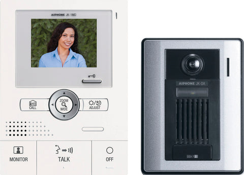AIPHONE JKS-1AED Hands-free Color Video with PanTilt & Zoom