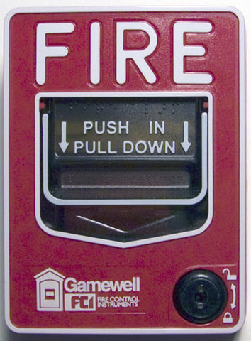 Gamewell-FCI MS-7AF Addressable Pull Station