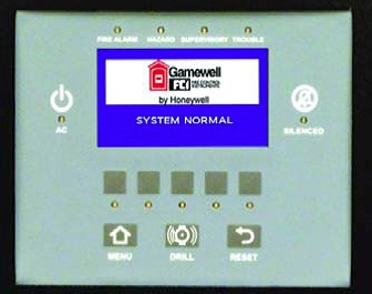 Gamewell-FCI LCD-SLP Annunciator Display