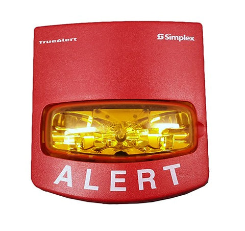 Simplex 4906-9108 Strobe Multi-CD Visible Only Red Wall Mount