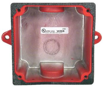 Potter BBK-1 Weather Proof Bell Back Box