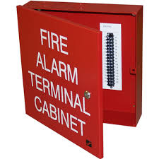 Space Age Electronics SSU00645 32-Point Fire Alarm Terminal Cabinet