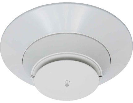 Firelite H365R Color White Addressable Heat DetectorRate Of Rise W/Base (REPLACEMENT FOR H355)