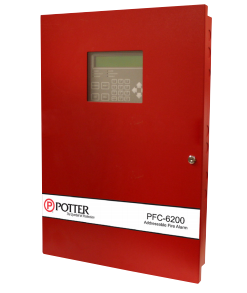 Potter PFC-6200 Addressable Fire Alarm Control Panel (Obsolete)