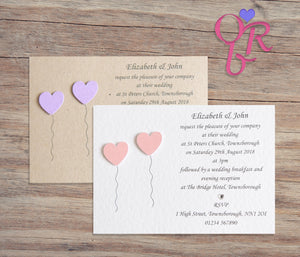 OLIVIA Day or Evening Invites - Pearl