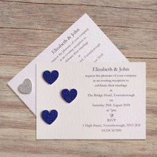 SIENNA Day or Evening Invites - Glitter