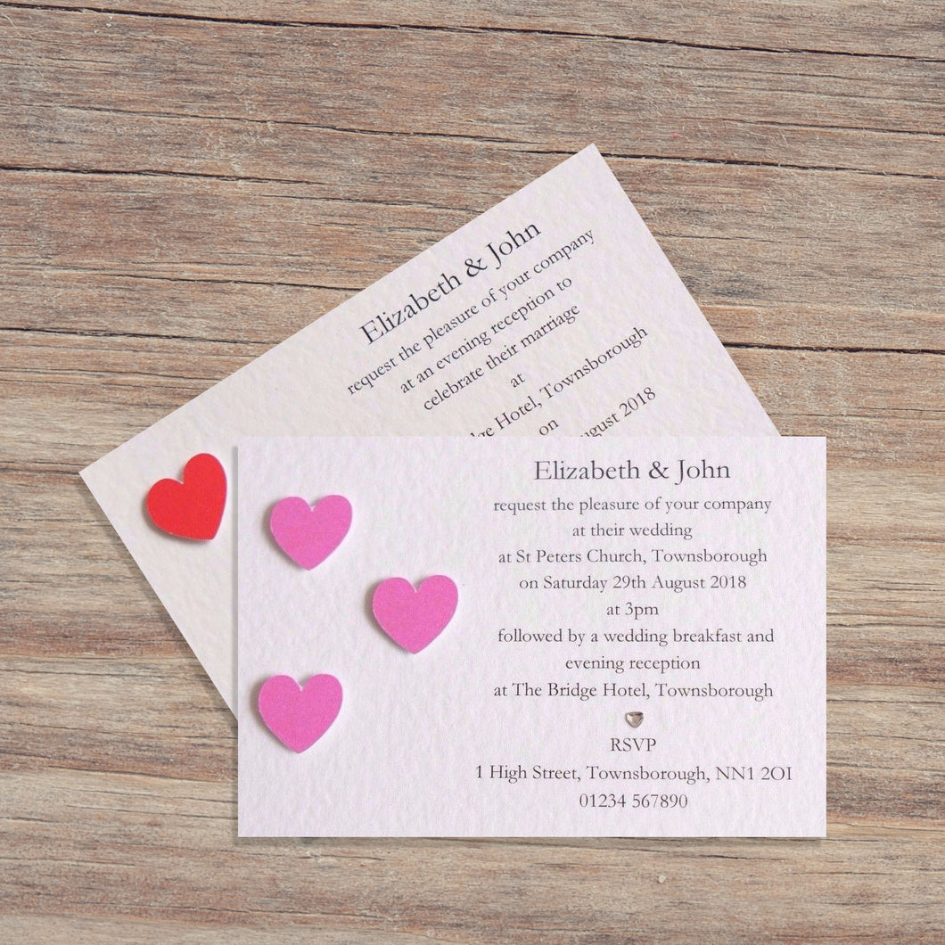 SIENNA Day or Evening Invites - Pearl