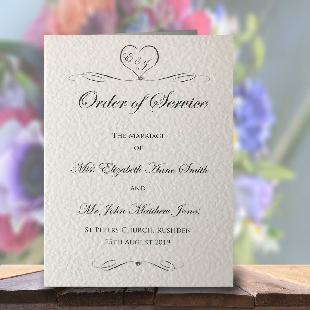 ALISSA Order of Service Booklet