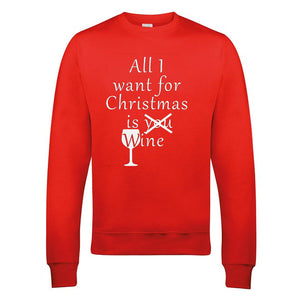 All I want for Christmas is wine sweater
