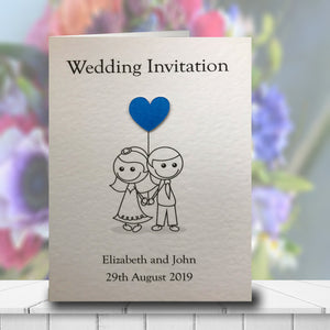 AMELIA Folded Invitation - Pearl