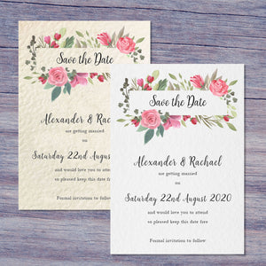 BELLA Save the Date cards