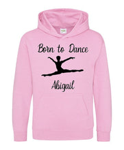 Born to Dance Personalised Kids Hoodie