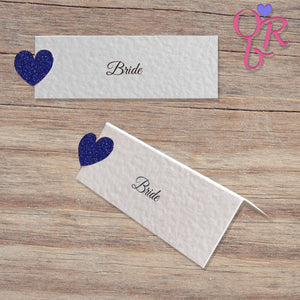 MILLIE Place Cards - Glitter