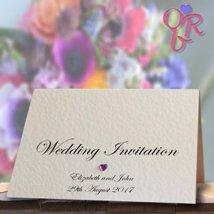 CHLOE Folded Invitation
