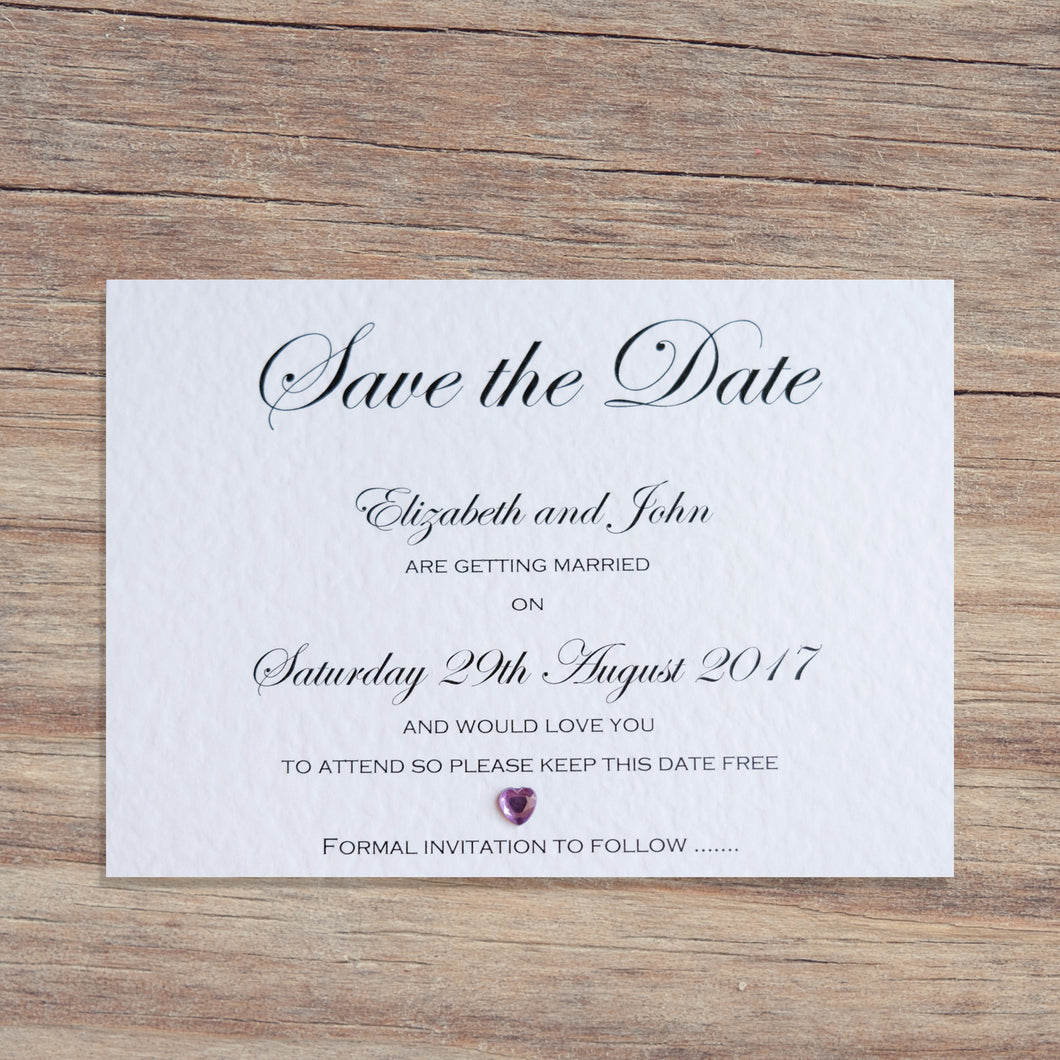 CHLOE Save the Date Cards