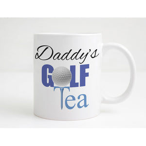 Golf Tea Personalised Mug