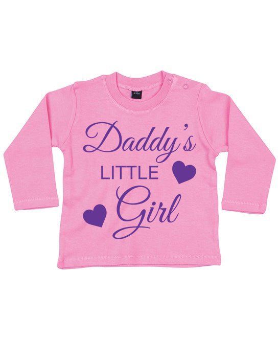 Daddy's little Girl Toddlers Long sleeve top.
