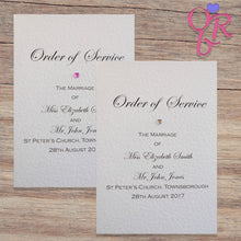CHLOE Order of Service Booklet