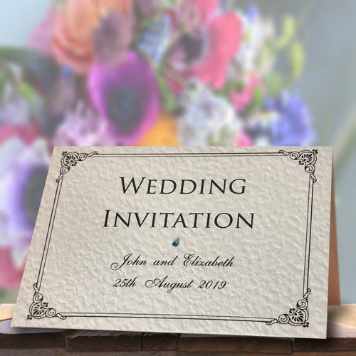 EMMA Folded Invitation