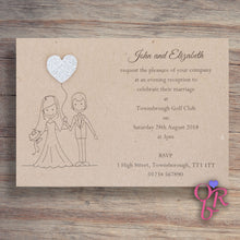 MILLIE Day or Evening Invites - Glitter