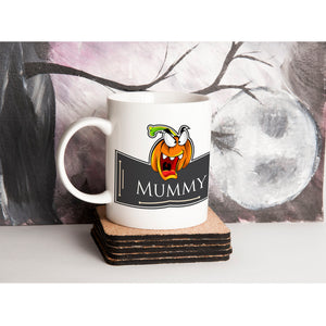 Personalised Halloween Pumpkin Mug V1